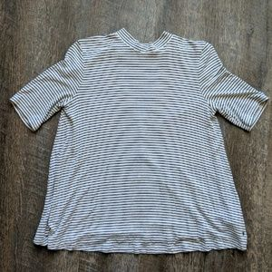 American Eagle Striped soft & Sexy Open Back Tee